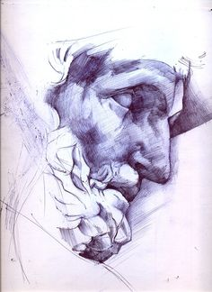 Greek Statue Bic Pen on Behance