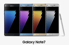 #Gadgets #Note #samsung Samsung presenta oficialmente el Galaxy Note 7: pensado para la productividad y entretenimiento