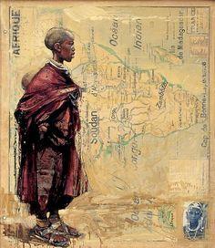 LES DEUX FRERES by Emmanuel Michel. Not a TCK artist, but a global traveler. [Pin by Heidi Tunberg]