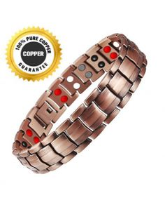 100% Copper Magnetic Bracelets Unisex Pure Copper, All Brands, 100 Pure, Link Bracelets, The 100, Pure Products, Unisex, Sterling Silver