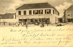 Hotel Driehuizen built in 1826 in Zandvoort, seen here as it was in the late Holland, Seaside Resort, Old Postcards, Netherlands, Hotels, History, Building, Painting, Beautiful