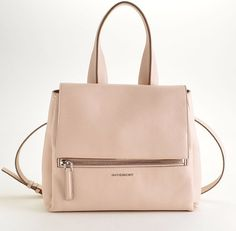 Rdc7679 Authentic Givenchy Pale Pink Small Pandora Pure Satchel Purse Tote
