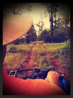 Own enough land and my own 4-wheeler so I can have my own trails :-)