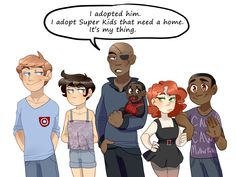 Phil Coulson, Maria Hill, Nick Fury, Natasha Romanoff, and Sam Wilson...AND MILES DONT FORGET MILES