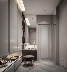 Wardrobe Interior Design, Bedroom Closet Design, Modern Classic Interior, Luxury Decor, Bedroom Design, Dressing Room Design, Interior Design Bedroom, Closet Colors, Luxury Kitchen Design