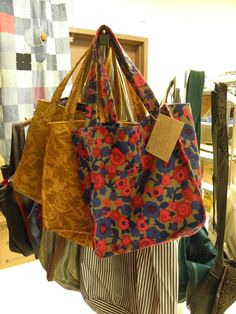 You can make a bag from old clothing