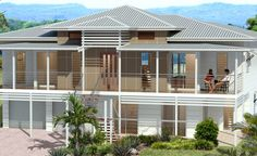 The Aquarius Contemporary Queenslander - wide verandahs, eaves and high internal ceilings. Beautiful and Laid Back.