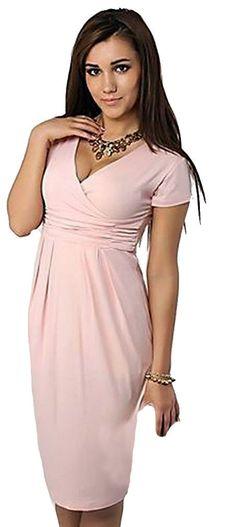 3ac6202d2c190 Maternity Fashion - best maternity dresses : MTRNTY Womens Maternity  Elegant Elastic Casual Summer Dress 1028