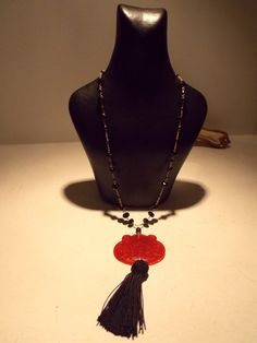 hand made necklace with natural stones ...