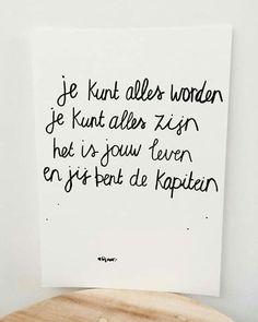 Top Tutorial and Ideas Favorite Quotes, Best Quotes, Funny Quotes, The Words, Cool Words, Happy Quotes, Positive Quotes, Bff, Dutch Quotes
