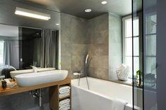 Super klimat łazienki i świetny sufit!