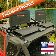 Jeep Backbone - Safari Seats - Fits 2007 to 2016 JK Wrangler Unlimited and Rubicon Unlimited - 4WD.com