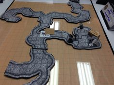 Fantasy RPG 2D Terrain Products – Past & Present - If you're into Dungeons & Dragons and enjoy using miniatures, you might be interested in the history of 2D terrain products, both old and new. For over 40 years, players have enjoyed the extra bit of realism that miniature dioramas and terrain have brought to the game, so here are some examples of what has been used in the past and what is available today.