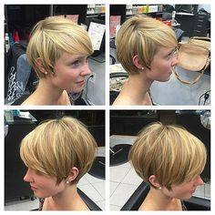 Hairdressing Advice That Will Keep Your Hair Looking Great – Hair Wonders Side Bangs Hairstyles, My Hairstyle, Quick Hairstyles, Short Bob Hairstyles, Pixie Haircuts, Hairstyle Ideas, Short Straight Hair, Short Hair Cuts, Short Hair Styles
