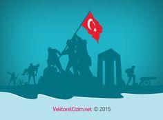 Vektörel Çizim | 18 Mart Çanakkale Zaferi