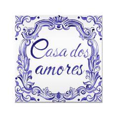 Azulejo casa dos amores de @danipurper | Colab55