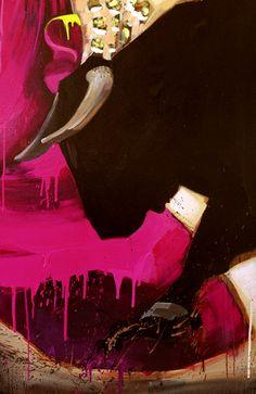 Painting bull