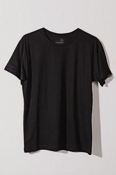 879f052fc8ad9 Camiseta Básica Preto Noir - Chico Rei