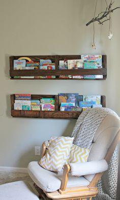 Diy nursery bookshelves nursery inspiration pinterest book diy nursery bookshelves nursery inspiration pinterest book nooks nursery and nook solutioingenieria Images