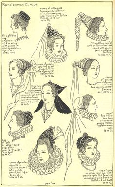 Renaissance Costumes and Clothing Coloring Pages 44 Free