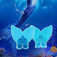 Do you like cosplay?Do you want to be a mermaid?Put on this mermaid #swim fin diving,and then you can swim like a fish! It is great for training and open water swimming.http://www.tomtop.cc/qiaiEr