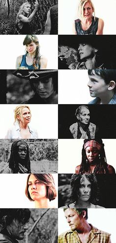 The Walking Dead Before and After