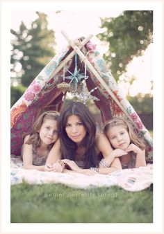 Idea for spring mothers day shoot with my girls! Perfection!