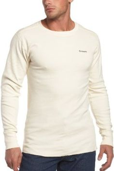 Carhartt Mens Heavyweight Cotton Thermal Crew Neck T-Shirt