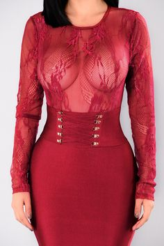 Women's Clothing Jumpsuits & Rompers Strong-Willed Sexy Women Long Sleeves Lace Patchwork Hollow Out Club Party Jumpsuits Rompers Invigorating Blood Circulation And Stopping Pains