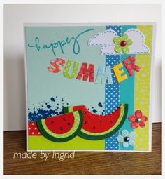 Ingrid's scrapfrutsels: Happy Summer