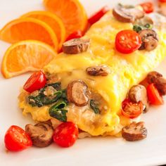 A delicious and healthy Veggie Omelette recipe with tips on how to make the PERFECT Omelet. Use your favorite vegetables to create your own perfect omelet. Omelette Recipe, Veggie Omelette, Breakfast Dishes, Breakfast Recipes, Breakfast Ideas, Morning Breakfast, Brunch Recipes, Dinner Recipes, Oatmeal Smoothies