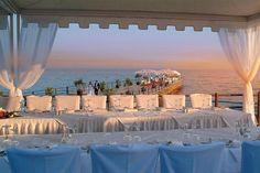 A beautiful wedding reception option at Elias Beach Hotel, Limassol. Cyprus Wedding Venues, Wedding Venues Beach, Hotel Wedding, Destination Wedding, Wedding Reception, Wedding Destinations, Beach Weddings, Wedding Signs, Boho Wedding
