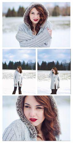 Brieeze Photography | High School | Senior | Winter | What to Wear | Makeup | Outdoor | pose | close up | www.brieeze.com