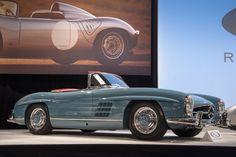 1958 #Mercedes Benz 300 SL #Roadster #MercedesBenzofHuntValley
