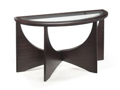 For The Magnussen Home Okani Demilune Sofa Table At Pilgrim Furniture City Your Hartford Bridgeport Connecticut Mattress