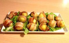 Bocconcini di patate con formaggio e speck