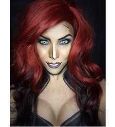 The Comic Book Makeup Art of Argenis Pinal | Oddity Central ...