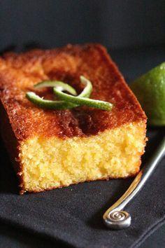 Cake Citron Vert & Noix de Coco