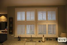 If you are looking for a way to control light flow without having to fit curtains, why not consider a plantation shutter? We make all shutters individually, ensuring they will be a perfect fit for your window. #WSW #london