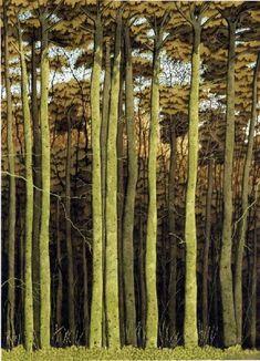 The Beechwood Plantation by Simon Palmer #tree #art