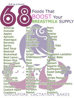 Singapore Lactation Bakes has compiled one list of6 8 food chart that boost milk supply. Here are some tips to increase your milk supply as well.