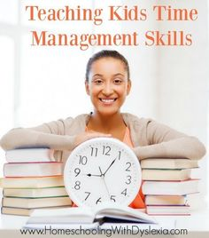 Learn two simple strategies for teaching kids time management.
