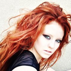 Gorgeous red hair by Gypsy