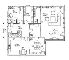 grundriss erdgeschoss huf haus modum 8 10 fachwerk von huf haus pinterest haus. Black Bedroom Furniture Sets. Home Design Ideas