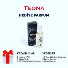 2016 Teona parfüm kazananlar