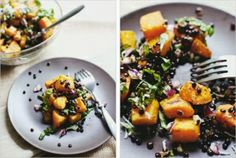 butternut squash and lentils by melissagarsia