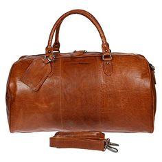 STILORD Leder Vintage Reisetasche Weekend Bag Urlaub Ledertasche Handgep/äck Sporttasche Retro Weekender echtes Leder braun