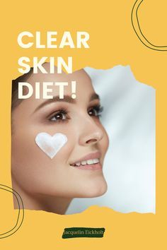 Clear skin diet Improve the look of your skin by simply adding the right foods to your diet :) Here you will find antiinflammatory recipes and more about the dermi diet! Get clear skin naturally and facts, learn more about acne-fighting foods, acne clearing diets, skincare, and acne treatments. Clear Skin Fast, Clear Skin Tips, Acne Clearing Foods, Clear Skin Routine, Glowing Skin Diet, Acne Treatments, Anti Inflammatory Recipes, How To Treat Acne, Diets