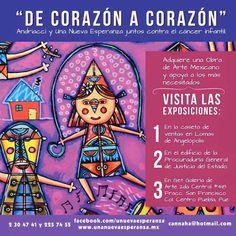 """Visita las exposiciones """"De corazón a corazón""""."""