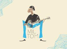 Mil Tom: Novos artistas brasileiros se juntam em homenagem a Milton Nascimento